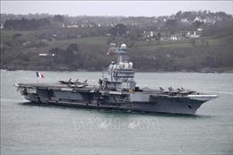 Tàu sân bay của Pháp trở về nước do phát hiện khoảng 40 thủy thủ nghi mắc COVID-19