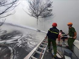 Bà Rịa-Vũng Tàu: Dập tắt hoàn toàn đám cháy tại kho hàng Công ty cổ phần Thành Chí