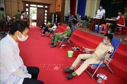 Cán bộ, chiến sỹ Công an tỉnh Đắk Nông hiến hơn 200 đơn vị máu an toàn trong đại dịch COVID-19