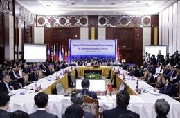 Hàn Quốc: Hội nghị ASEAN+3 tập hợp quyết tâm chính trị cùng đối phó dịch COVID-19