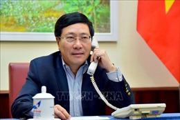 Việt Nam - Australia nhất trí tăng cường chia sẻ kinh nghiệm phòng, chống dịch COVID-19