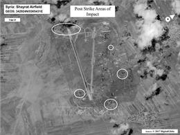 Syria đáp trả cuộc tấn công tên lửa của Israel
