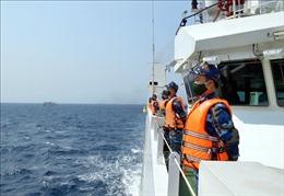 Những hình ảnh chuyến kiểm tra liên hợp nghề cá Việt Nam - Trung Quốc