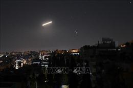 Syria đánh chặn một số tên lửa bắn vào thủ đô Damascus
