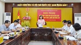 Đoàn Đại biểu Quốc hội tỉnh Bắc Ninh lấy ý kiến đóng góp vào 3 dự án luật