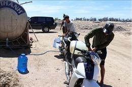 Ninh Thuận lập phương án chở nước sạch cấp cho người dân vùng khô hạn