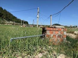 Hệ thống cấp nước sinh hoạt cho trung tâm huyện đảo Lý Sơn hoạt động không hiệu quả