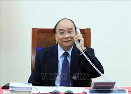 Thủ tướng Chính phủ Nguyễn Xuân Phúc điện đàm với Tổng thống Philippines