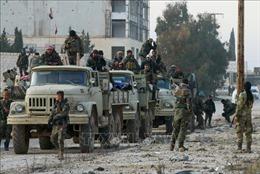 Nhóm tay súng cực đoan tấn công khiến 19 binh sĩ chính phủ Syria thiệt mạng