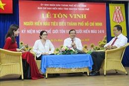 Tổ chức chuỗi hoạt động tôn vinh 100 người hiến máu tiêu biểu toàn quốc