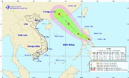 Áp thấp nhiệt đới có khả năng đi vào biển Đông và mạnh lên thành bão
