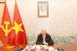 Tổng Bí thư, Chủ tịch nước Nguyễn Phú Trọng điện đàm với Tổng thống LB Nga Vladimir Putin