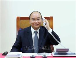 Thủ tướng điện đàm với Lãnh đạo Tập đoàn dầu khíExxon Mobil