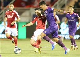 Sài Gòn FC vươn lên ngôi đầu bảng V.League