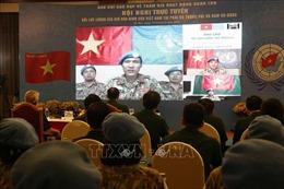 Tăng cường năng lực phòng dịch cho lực lượng gìn giữ hòa bình Việt Nam tại các phái bộ