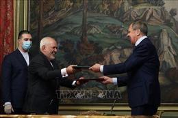 Nga cam kết 'sát cánh' với Iran liên quan đến thỏa thuận hạt nhân