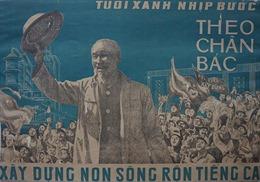 Triển lãm 'Sưu tập tranh cổ động'và lễ ra mắt sách 'Khát vọng hòa bình'