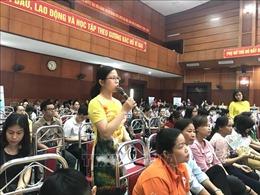 Hà Nội: Phòng, chống bạo lực gia đình và xâm hại phụ nữ, trẻ em