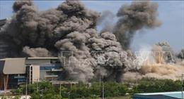 Hàn Quốc đưa ra tuyến bố về việc Văn phòng Liên lạc liên Triều bị phá hủy