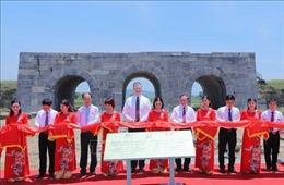 Khánh thành dự án tu bổ cổng thành phía NamThành nhà Hồ