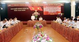 Tiến tới Đại hội XIII của Đảng: Kiểm tra công tác Đại hội Đảng bộ các cấp tại Nam Định