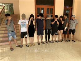 Phát hiện 13 nam, nữ thanh niên sử dụng ma túy trong quán karaoke