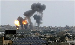 Máy bay chiến đấu Israel tấn công các cơ sở của Hamas tại Dải Gaza