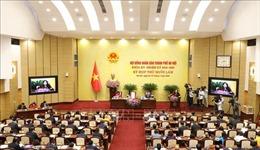 HĐND TP Hà Nội thông qua nhiều nghị quyết phát triển kinh tế, xã hội