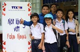 Tiếp tục lan tỏa dự án 'Nói không với Fake News' của TTXVN