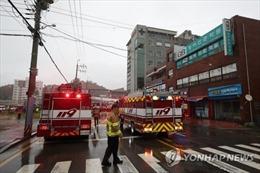 Hỏa hoạn nghiêm trọng tại một bệnh viện ởHàn Quốc, ít nhất 3 người tử vong