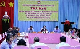 Hiến kế xây dựng nông thôn mới gắn với bảo đảm an toàn giao thông