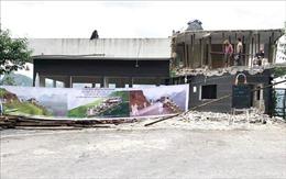 Tháo dỡ, cải tạo nhà hàng Panorama trên đèo Mã Pì Lèng theo thiết kế mới