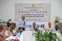 Sưu tầm và phát huy di sản của các nhà sử học Việt Nam