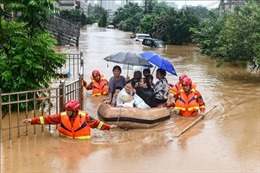 Gần 4 triệu người tại Ấn Độ và Nepalsơ tán do lũ lụt