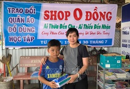 Shop 0 đồng và tấm lòng của một cô giáo đối với học trò nghèo vùng sâu