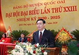 Huyện Quốc Oai phát triển theo hướng đô thị sinh thái, nông nghiệp công nghệ cao