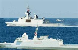 Hải quân Ai Cập và Pháp diễn tập trên Địa Trung Hải