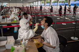 Bắc Kinh tăng cường xét nghiệm virus SARS-CoV-2 trên diện rộng