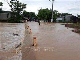 Mưa lớn gây ngập lụt cục bộ một số nơi ở Đắk Lắk