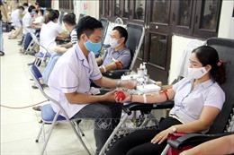Gần 1.500 người tham gia ngày hội hiến máu ở Nam Định