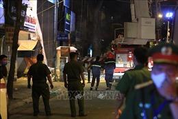 Vụ sập giàn giáo tại Hà Nội: Tạm dừng thi công công trình, điều tra nguyên nhân