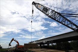 Đẩy nhanh tiến độ thi công thông tuyến cao tốc Trung Lương – Mỹ Thuận