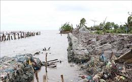 Đẩy nhanh tiến độ các dự án, khắc phục sạt lở đê biển Tây