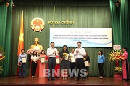 TTXVN đoạt ba giải báo chí viết về ngành tài chính
