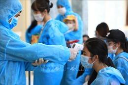 Bộ Tư lệnh Thủ đô Hà Nội tiếp nhận và cách ly tập trung 413 công dân về từ Đà Nẵng