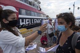 Hy Lạp ghi nhận trường hợp đầu tiên mắc COVID-19 tại trại tị nạn trên đảo Chios