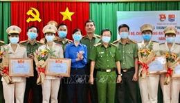TP Hồ Chí Minh tuyên dương cán bộ, chiến sĩ Công an Nhân dân trẻ tiêu biểu