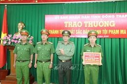 Biểu dương lực lượng bắt vụ vận chuyển hơn 45 kg ma túy ở Đồng Tháp