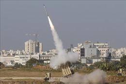 Israel đánh chặn các tên lửa từ Dải Gaza
