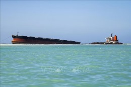 Mauritius đánh chìm tàu gây sự cố tràn dầu